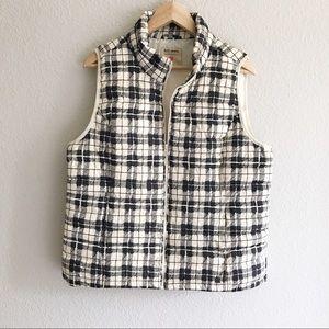 Ruff Hewn plaid puffer vest